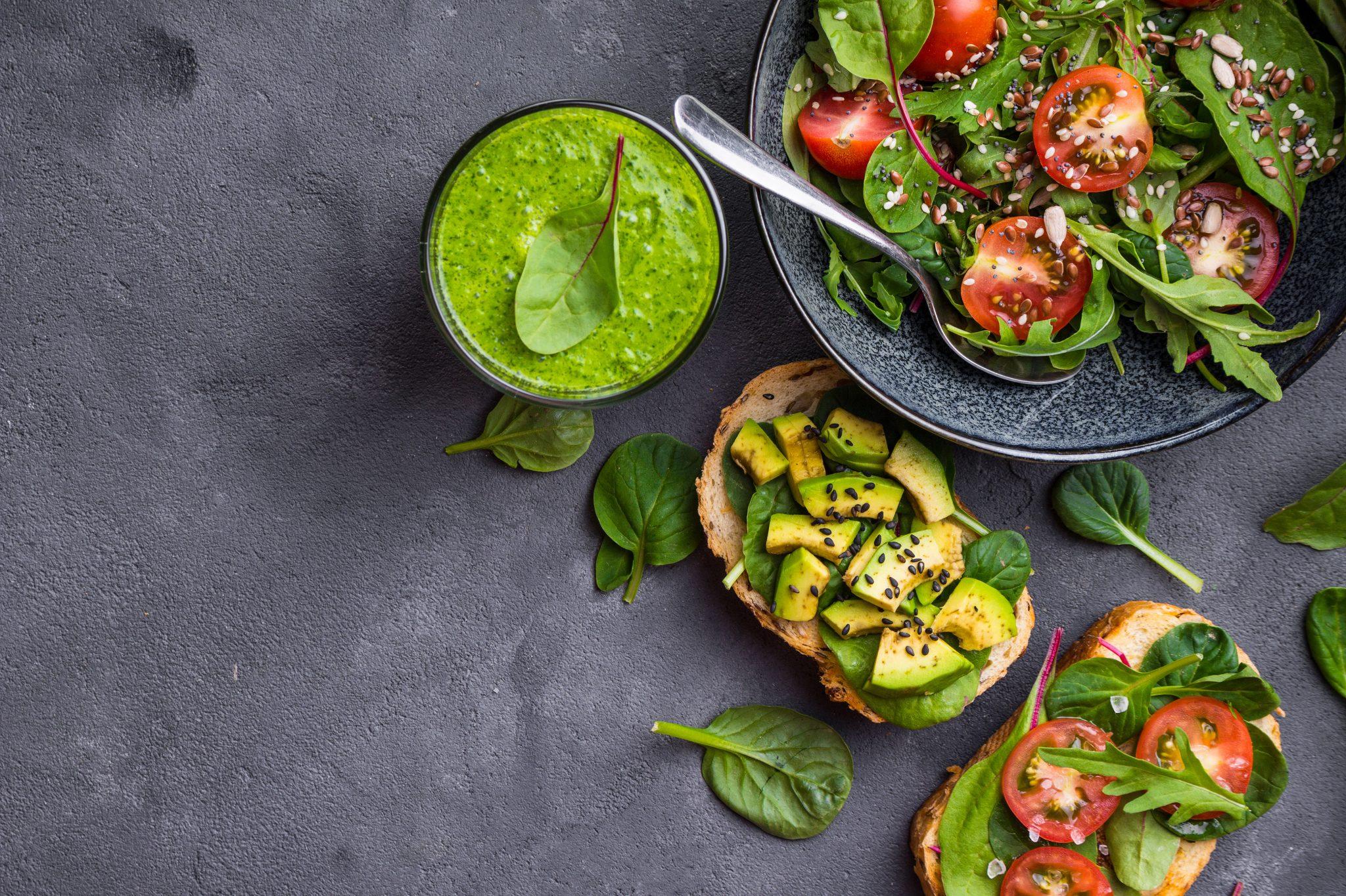 Vegetarisk och Vegansk buffé